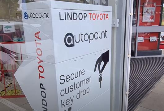 Lindop Toyota Key Lockers